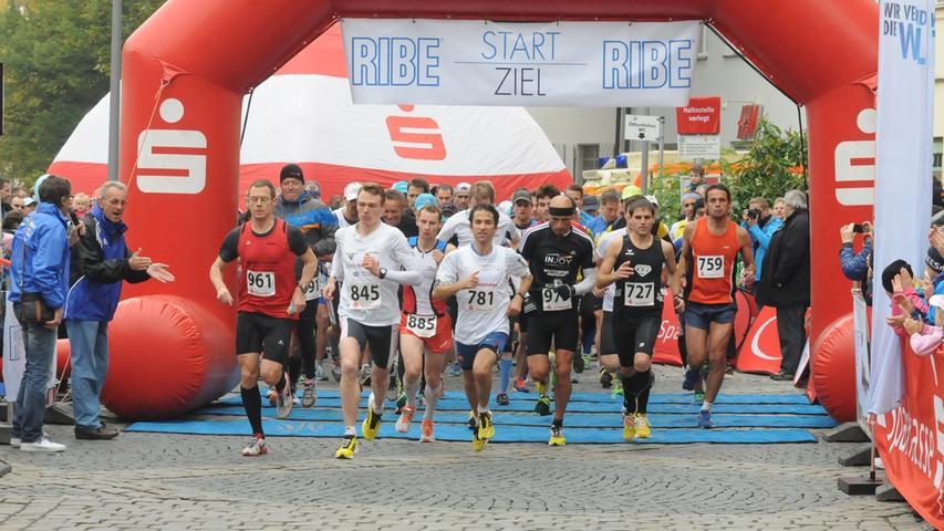 Auf den 21,1 Kilometern des Sparkassen-Halbmarathons konnten wichtige Punkte  für die Gesamtwertung des infinity-sports Läufercups
