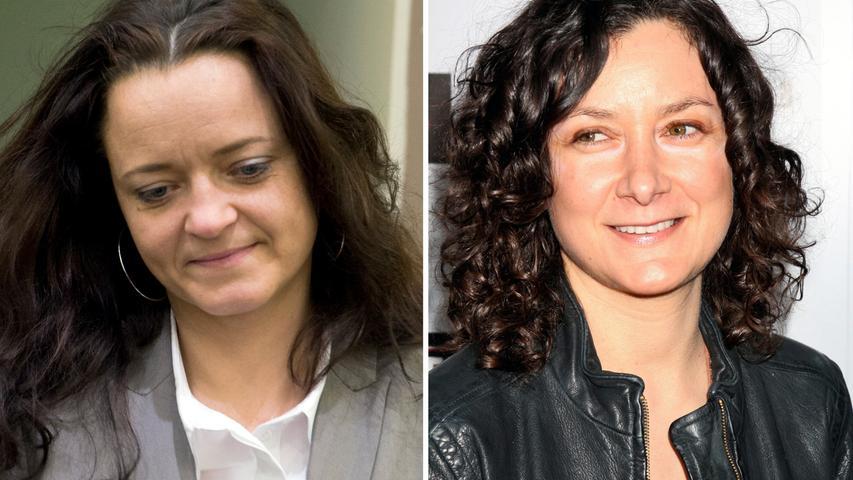 Sie sei ihr aufgefallen, weil sie einer Schauspielerin ähnlich sah: Sara Gilbert (rechts) aus der Serie