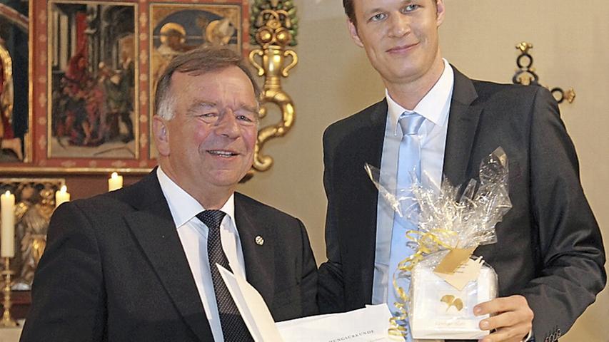 Ehrenzeichen für Hermann Kammerer
