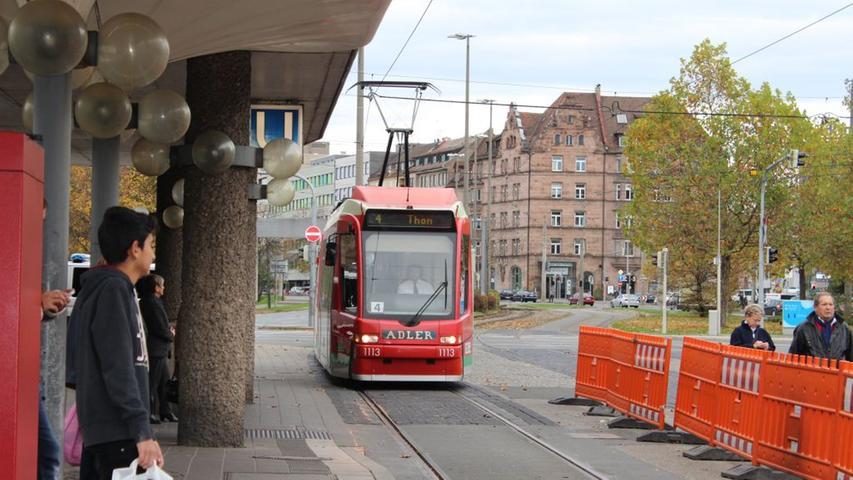 Stadtbahn nach Erlangen: Bilder vom ersten Bauabschnitt