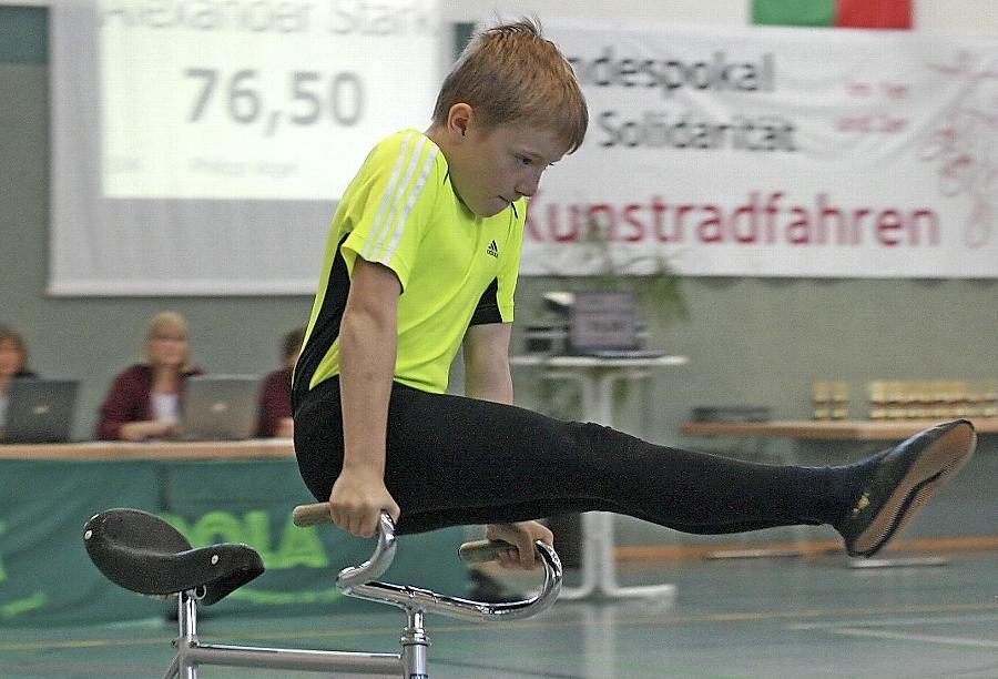 Eine gewohnte Platzierung für Alexander Stark. Auch beim Bundespokal ließ das junge Talent die Konkurrenz weit hinter sich und belegte den ersten Platz.