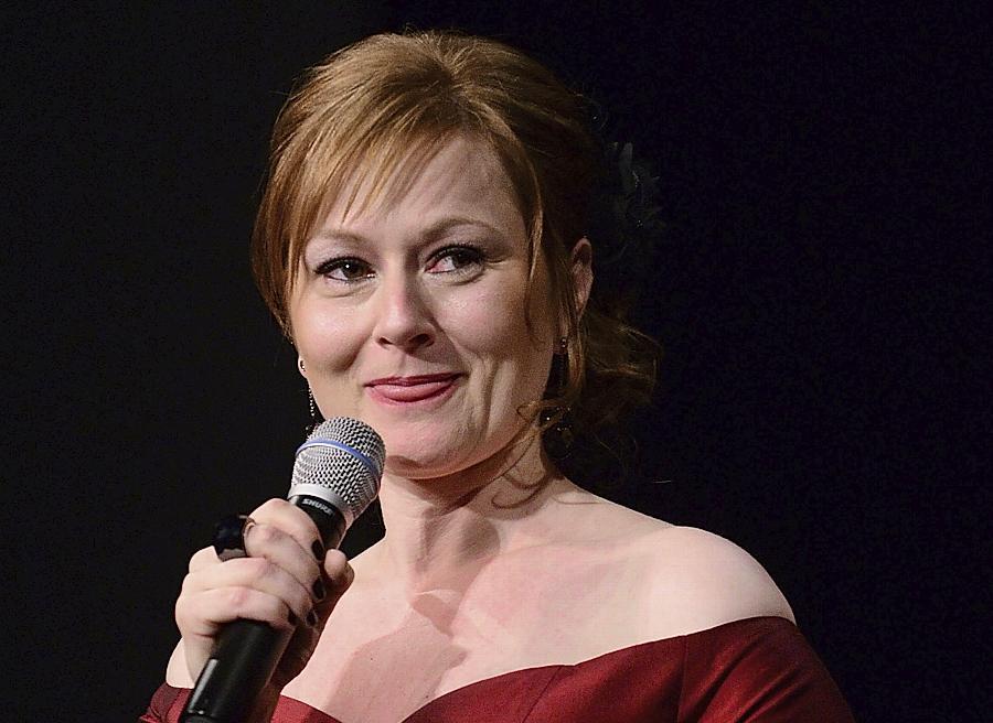 Charmante Gastgeberin: Gala-Initiatorin Carola Gebhart moderierte den Abend.