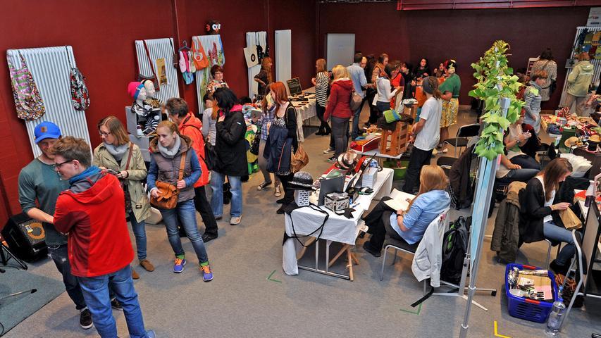 Motiv: Fairdreht - Markt im Jugendhaus Catch-Up /..Foto : Mark Johnston