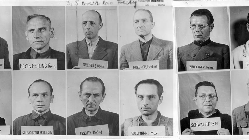 In den zwölf Nachfolgeprozessen im Nürnberger Justizpalast wurden weitere 171 Beschuldigte verklagt, unter anderem Ärzte, Juristen sowie führende Personen aus der Wirtschaft. Im sogenannten