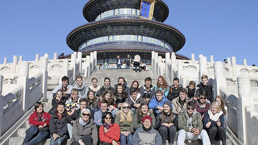 AKG-Schüler in China: Beeindruckende Erlebnisse