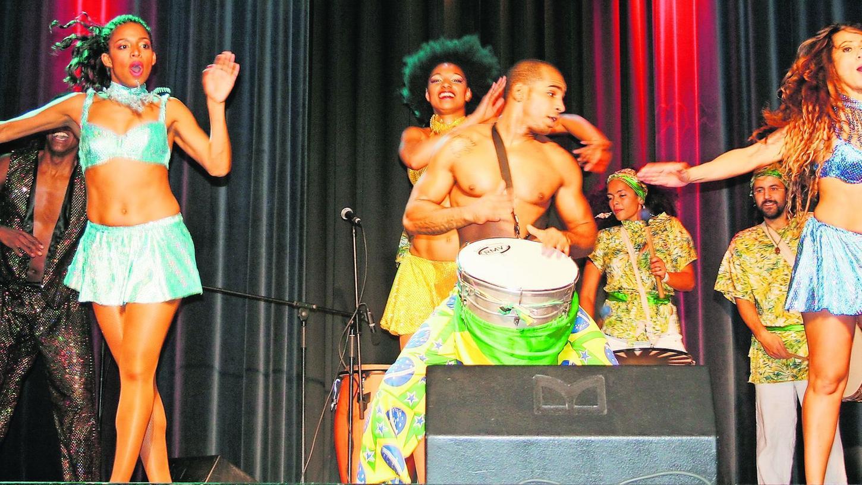 Brasilianische Tänze zu jamaikanischen Reggae-Klängen — auch diese Mischung begeisterte das Publikum.