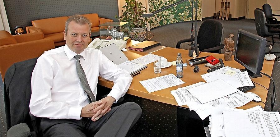 Setzt vorerst weiter auf's Analoge: Nürnbergs OB Maly.