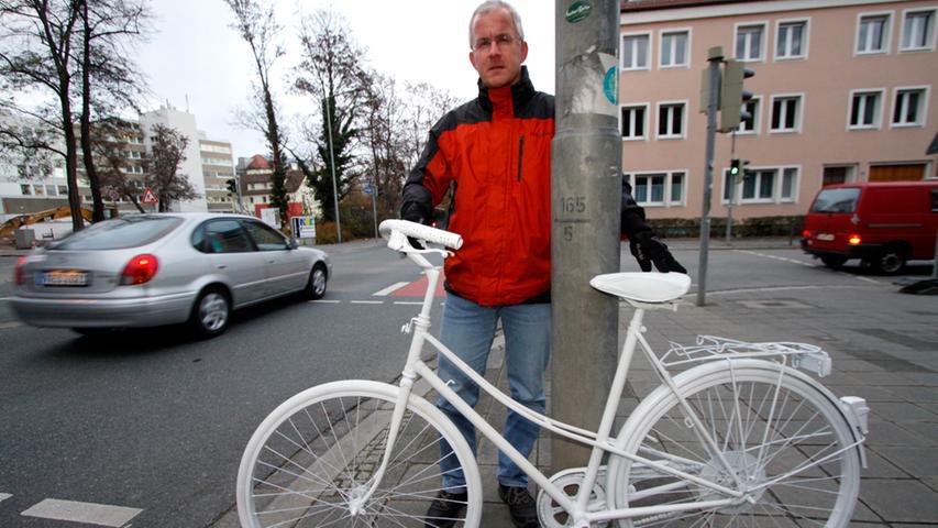 Dieser tödliche Unfall hat in Fahrradfahrer-Kreisen hohe Wellen geschlagen, sagte Jens Ott, Vorsitzender des ADFC Nürnberg.