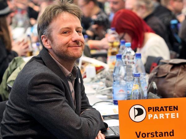 Der Vorsitzende der Piratenpartei: Jens Seipenbusch.
