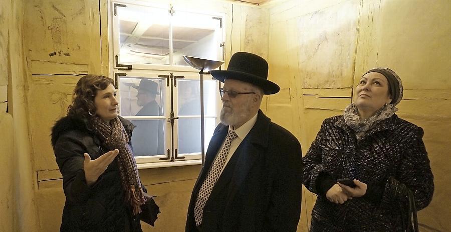 Ein jüdischer Geistlicher auf Spurensuche in Schwabach
