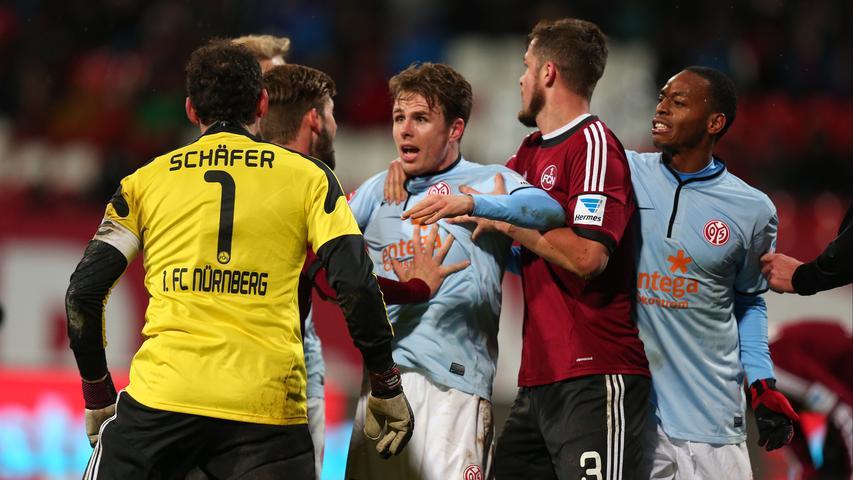 Wieder kein Sieg: FCN bricht gegen Mainz noch ein