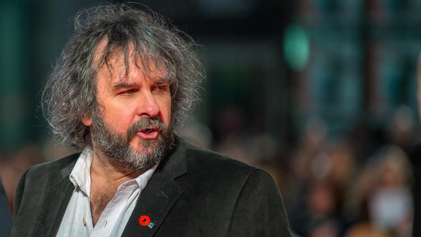 ... kam auch Regisseur Peter Jackson auf den Roten Teppich.
