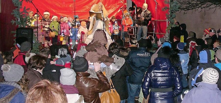 Wendelsteiner Weihnachtsmarkt: Nur Schnee wurde vermisst
