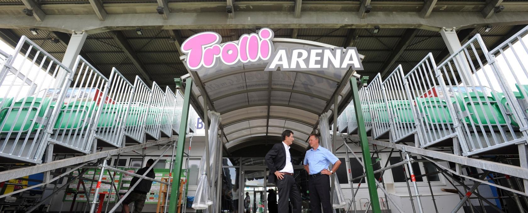 Alles bleibt beim Alten: Die Heimspielstätte der SpVgg Greuther Fürth trägt noch ein Jahr lang den Namen