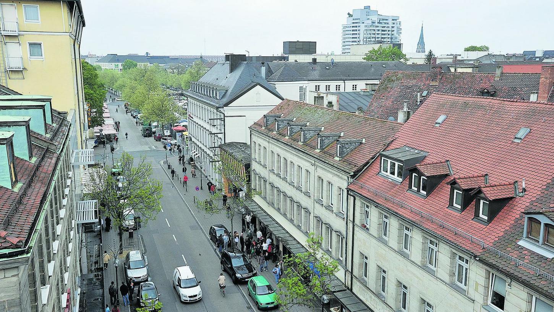 Auf ein Neues: Zum zweiten Mal nehmen Pläne Gestalt an, links und rechts der Fürther Rudolf-Breitscheid-Straße ein Einkaufszentrum zu schaffen.