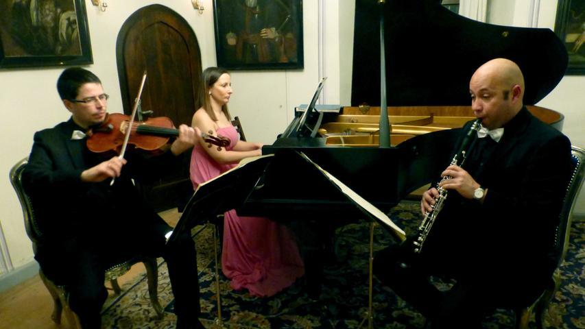 Drei Solisten im perfekten Dialog der Instrumente