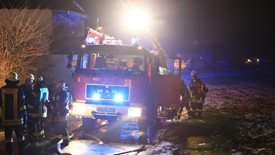 Bernhardswinden: Autoschrauber setzt Garage in Brand