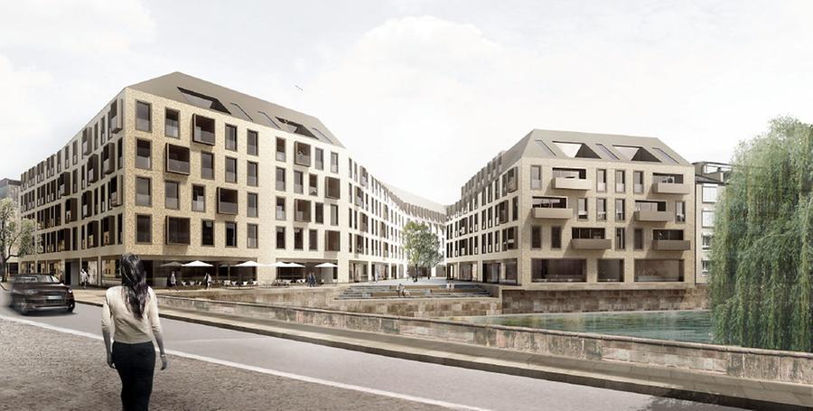 Eine Baugenehmigung der Stadt hat Gerd Schmelzer bereits. Bisher liegt dagegen aber noch eine Klage beim Verwaltungsgericht Ansbach. Jetzt sieht es so aus, als ob Nachbar Helmut Bühl zu einem Kompromiss bereit ist. Vielleicht zieht er die Klage also zurück.