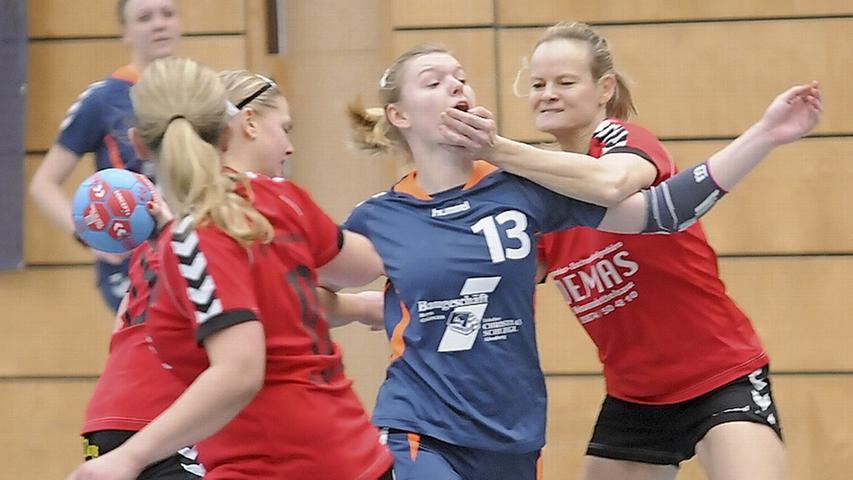SG-Handballerinnen sitzen TSV Lichtenau fest im Nacken