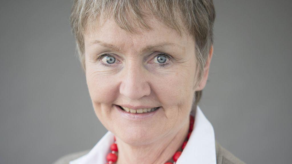 Doris Reinecke (SPD) kandidierte für das Amt der Oberbürgermeisterin in Schwabach.