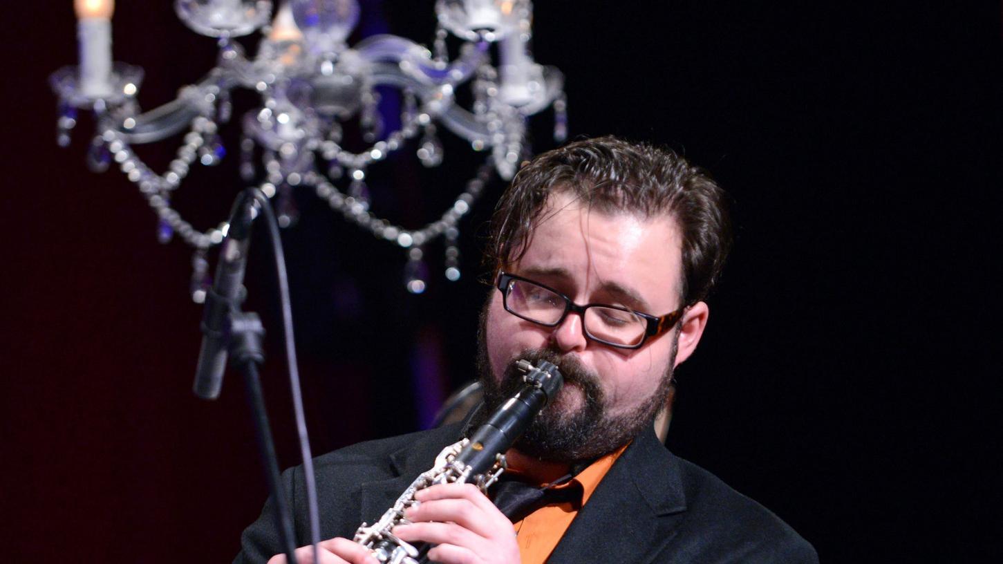 Michael Winograd beim Klezmer Festival in Fürth