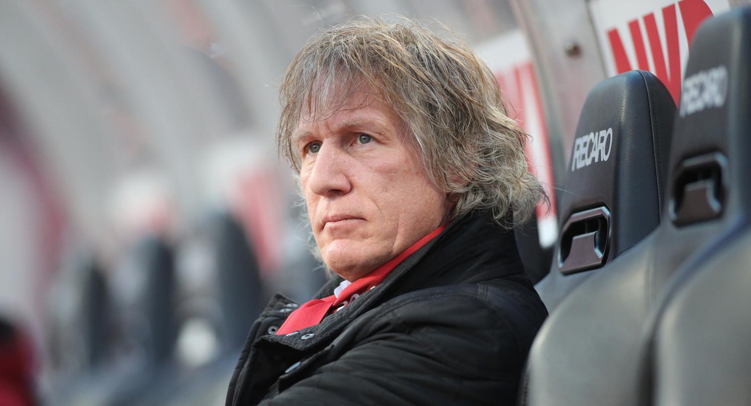 Spaß trotz Niederlage: Gertjan Verbeek gefiel die Leistung seiner Schützlinge.