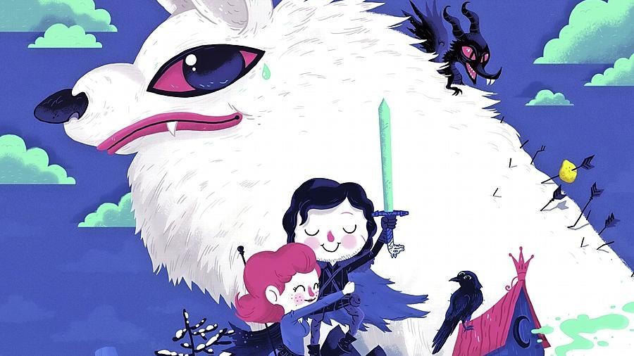 Eine Zeichnung Kilgers für die Comic-Serie