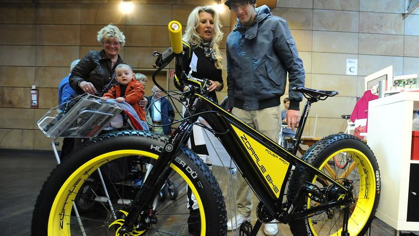 Fette Reifen und coole Trends auf der Rad14 in Fürth