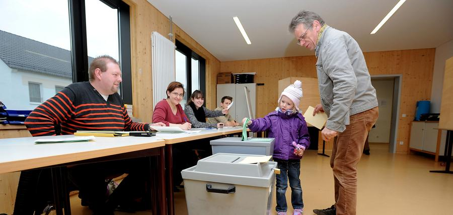 Kommunalwahl 2014: Die Kleeblattstadt hatte die Wahl