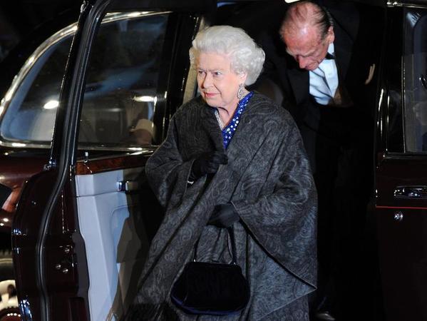 Die Queen gab sich die Ehre.