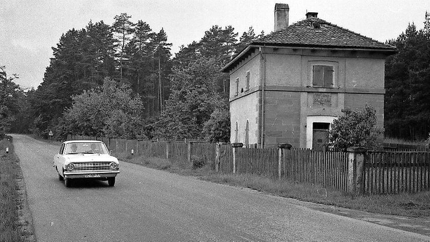 Erinnerung an das ehemalige Chausseehaus bei Kammerstein