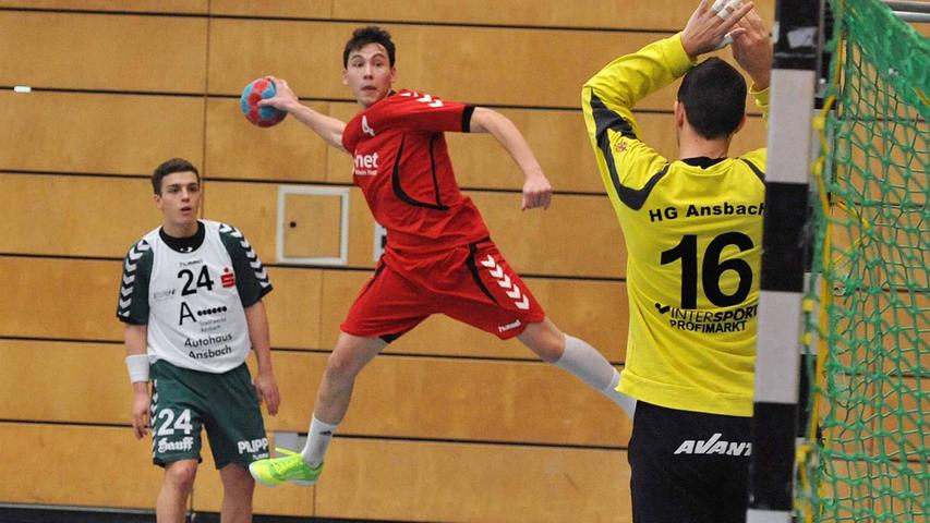 Handball-BOL: Ansbach entschied Spitzenpartie gegen Schwabach für sich