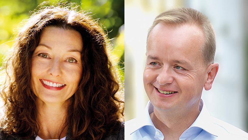 In Ansbach setzt sich Carda Seidel (parteilos, 60 Prozent der Stimmen) gegen Thomas Deffner (CSU) durch.