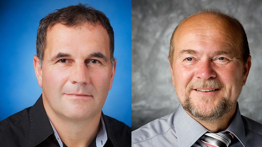 In Burghaslach holte Armin Luther (CSU-FWG) 54 Prozent der Stimmen gegen Hermann Wehr (Neue Bürgerliste).