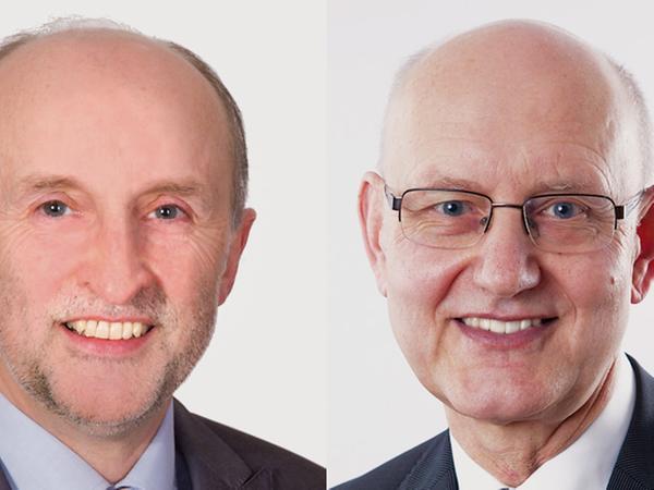 In Hohenfels treten Bernhard Graf (UPW Hohenfels) und Dietmar Feuerer (CSU) in der Stichwahl gegeneinander an.