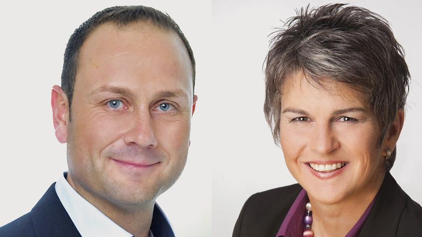 Amtsinhaberin Birgit Huber (CSU) gewinnt das Duell mit Herausforderer Marco Maurer (SPD) in Oberasbach mit 54 Prozent.