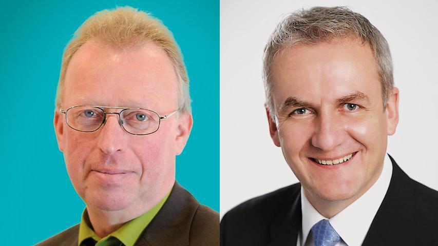 In Wiesenttal tritt Helmut Taut (FW) gegen Konrad Rosenzweig (CSU) in der Stichwahl an.