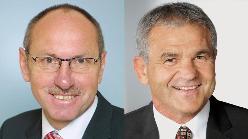 Gerhard Wagner (SPD) unterliegt Ludwig Nagel von der CSU in der Stichwahl in Hemhofen deutlich. Nagel erhilt 68 Prozent der Stimmen.