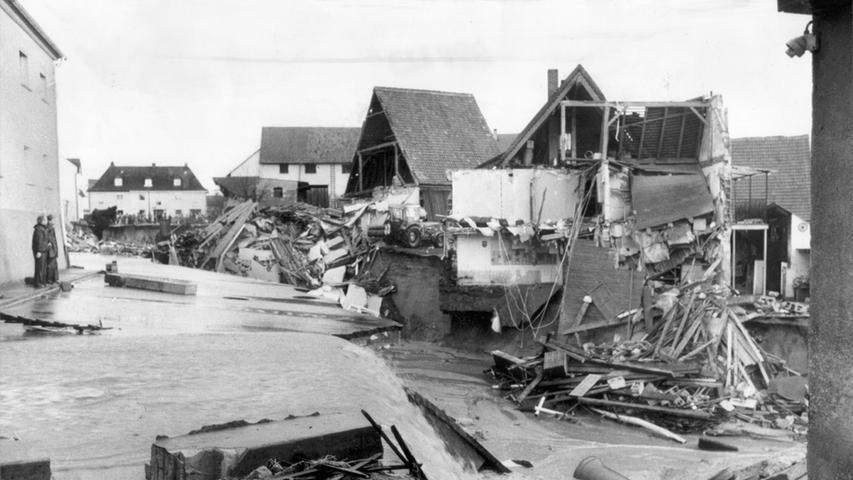 Dammbruch von Katzwang: Tödliche Wasserwalze im Frühjahr 1979