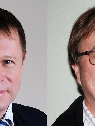 Die Stichwahl muss entscheiden, wer Nachfolger von Gerhard Sendelbeck, dem scheidenden Bürgermeister von Unterleiter, wird: Ewald Rascher und Gerhard Riediger erhielten die meisten Stimmen im ersten Wahlgang.