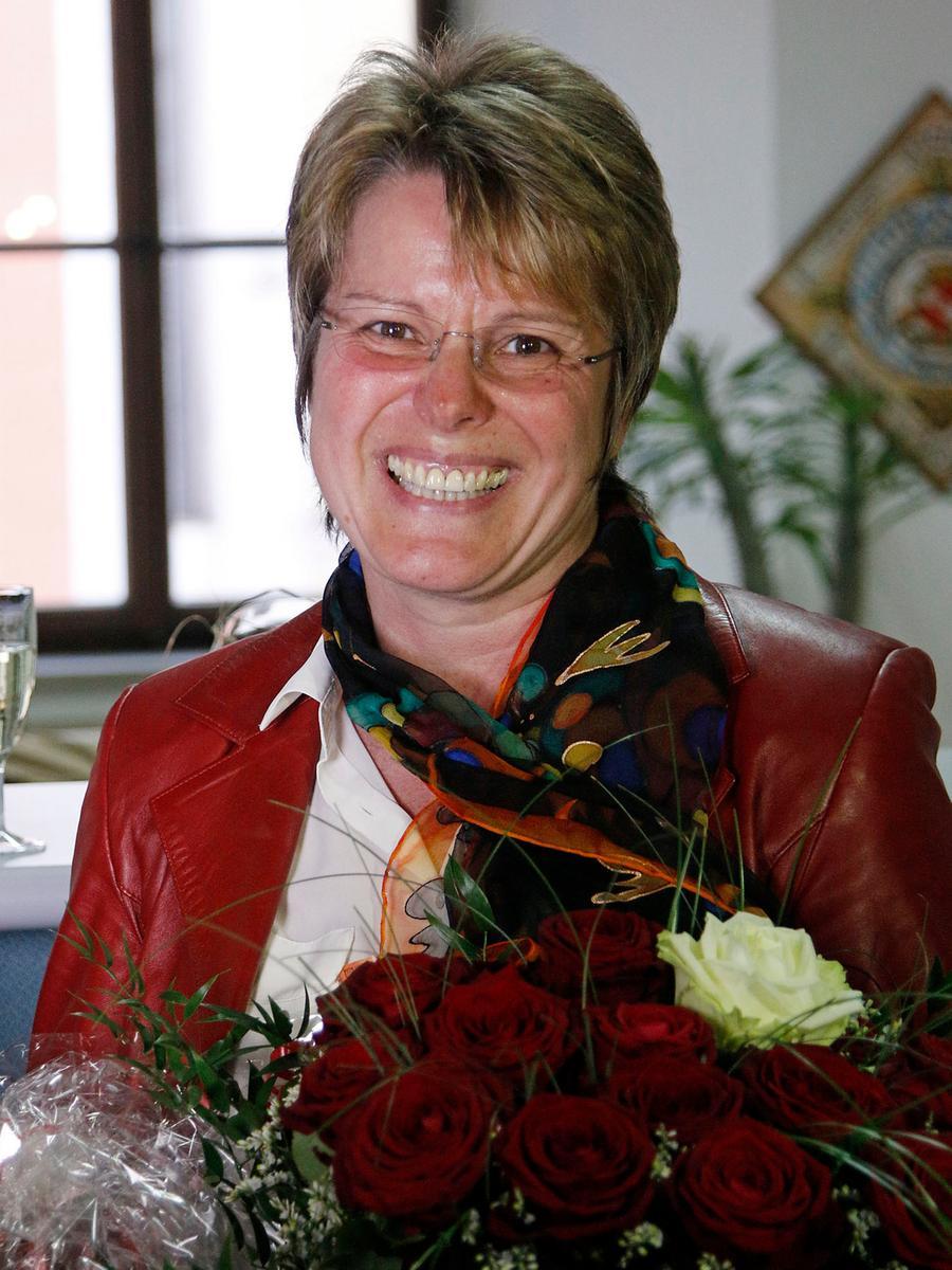 Die strahlende Siegerin der Stichwahl in Dietfurt heißt Carolin Braun (SPD).