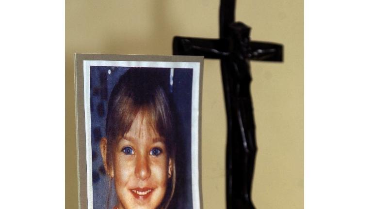 Bild von Peggy auf dem Altar der Kirche des oberfränkischen Ortes Lichtenberg (Archivbild vom 16.05.2001)