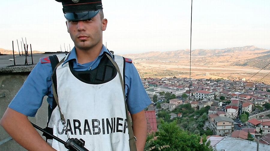 Die Stadt San Luca ist eine der Hochburgen der Mafia in Kalabrien. Sie gilt als eine der mächtigsten Verbrecherorganisationen weltweit.
