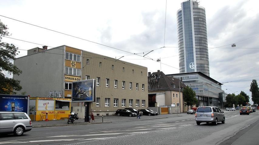 Die zusammengewürfelten flachen Gebäude werden derzeit