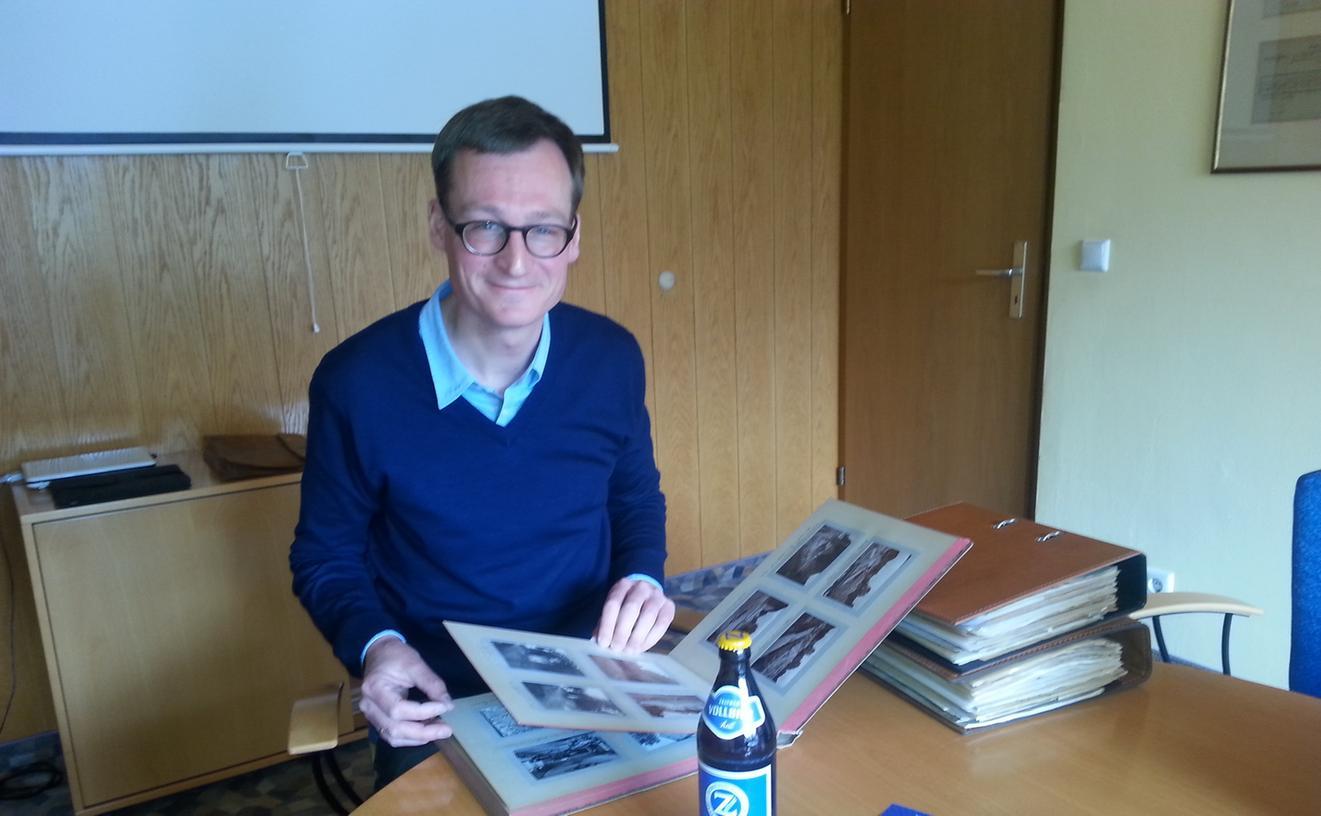 Freut sich über die gelungene Neuauflage eines Bierklassikers: Berthold Zeltner leitet die Brauerei in sechster Generation.