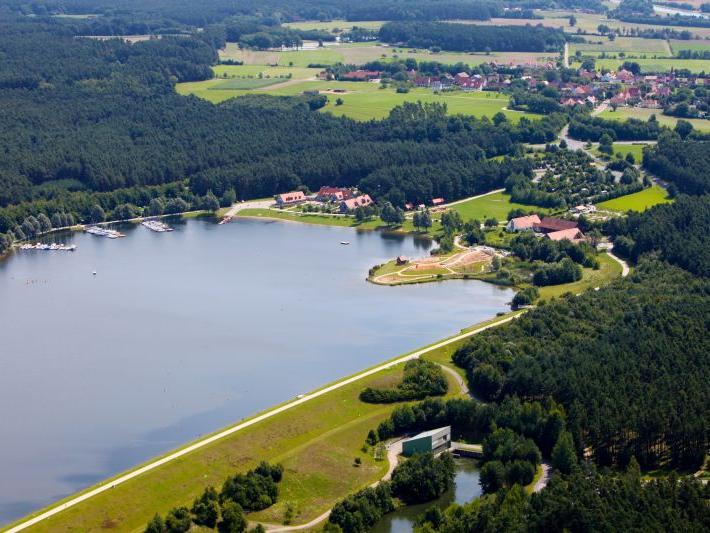 Der Rothsee aus der Luft