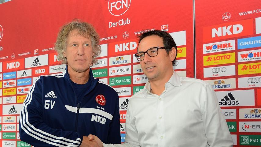Am 22. Oktober 2013 fing alles vielversprechend an: Schon bei seiner ersten Pressekonferenz hinterließ Verbeek aufgrund seiner geradlinigen Art einen guten Eindruck bei Medien und Fans.