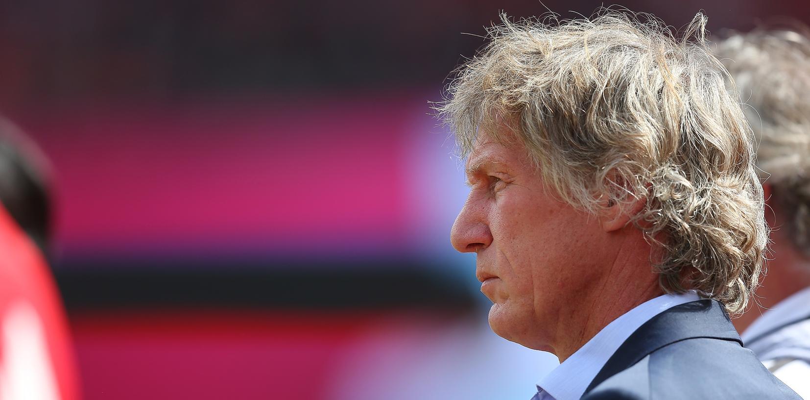 Gertjan Verbeek wird beim 1. FC Nürnberg wohl am Mittwoch entlassen.