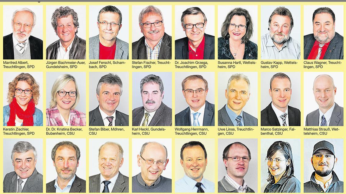 Der Treuchtlinger Stadt 2014 bis 2020.
