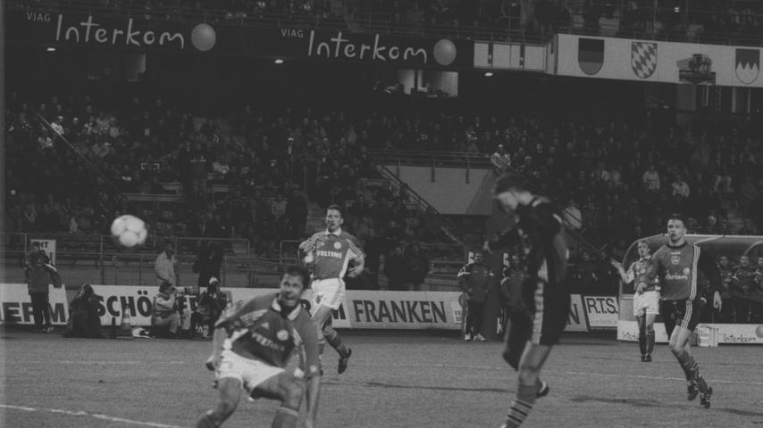 RESSORT: Sport FOTO: W.Bauer 5.3.99.MOTIV: 1.FCN-Schalke